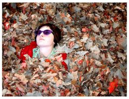 Sarah Got Covered in Leafs II by BasSnowbrdr