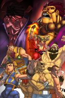 pixelisedstreetfighter by ShaunONeil
