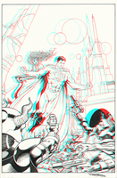 Superman by Barry Kitson in 3d Anaglyph by xmancyclops