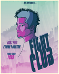Fight Club Poster by HeyItsTudes