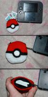 Pokeball Game Pouch by Reitanna-Seishin