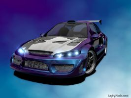 Widebody EG6 High Poly WIP 4 by ragingpixels
