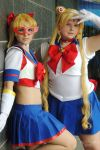 Sailor Moon and V by BellaHime