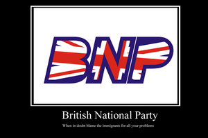BNP demotivator by Party9999999
