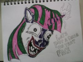 Twilight as the Joker by TheNorthRemembers3