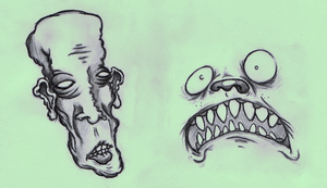 faces by MalKuntent