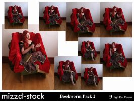 Bookworm Pack 2 by mizzd-stock
