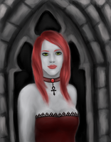 Gothic Lady by xmallory08