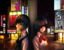 Tokyo Ghoul : Divergence by hen-tie