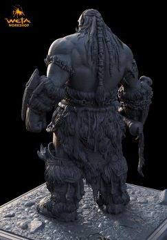 Durotan 2 Back View by HazardousArts