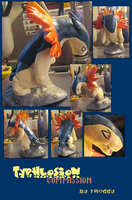 Typhlosion Commission by HollieBollie