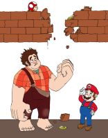 Super Wreck-It Bros. by Meltharos