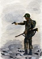 Band of Brothers - Carentan #2 ArtCard by Jeanne-Lui