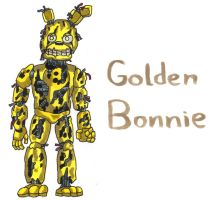 Golden Bonnie by YouCanDrawIt