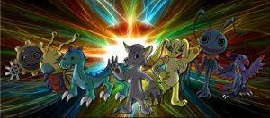 Digimon Static Force by Inkheart7