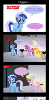The Background Ponies Chronicles: The Everfree F. by Serginh