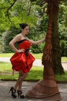 Red Satin 20 by Anariel-Stock