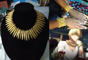 Gilgamesh Jewelry Set by ShellMinded