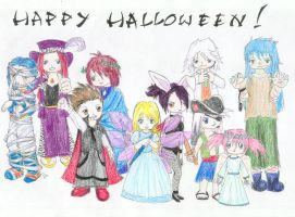 Tales of Symphonia Halloween by arivess