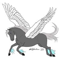 Pegasus for jgirl999s competition by FafnirtheDragonLord