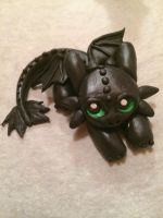 [COMMISSION] Baby toothless by Jessend