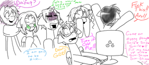 Allies React to Smile HD by HippieUnicornFlower