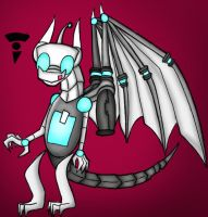 Gir Goes draconic coloured by dragonfire1000