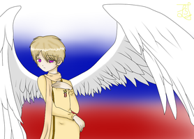 Angel Russia by AwesomeKijo