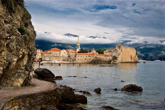 Old town, Budva by Grofica