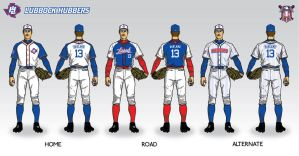 Lubbock Hubbers Baseball Uni by Satansgoalie