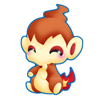 Chimchar by Clinkorz