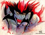 Devilman amon by FASSLAYER