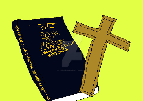 Book of Mormon by Pinksneasel