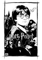 Harry Potter_by_DanielBrandao by DanielBrandao