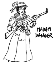 Madam Danger by CarrionTrooper