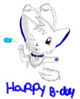 Happy Birthday Isa x3 by KathyKid