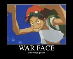War face by redkintoba