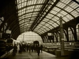 Antwerpen railway station by exogadget