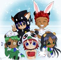 Noraboo + friends :D by hitotoki