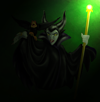 Maleficent by nooriginalnames