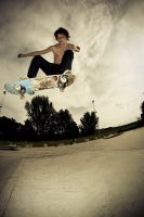 Ollie over funbox by mjagiellicz
