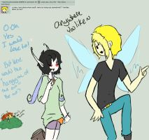 Q1: hanging out? by Ask-Olive-And-Oliver