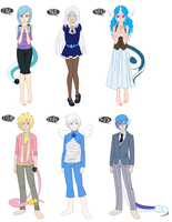 Dragonair Gijinka adoptables OPEN by anti-social-DEMON