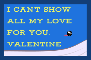 Wailord Valentine by The-Blue-Pangolin