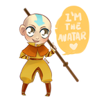 Aang by FF00CC