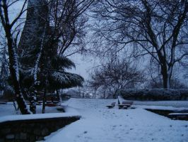 snow - istanbul II by smrdncr