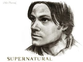 Sam Winchester by MeduZZa13