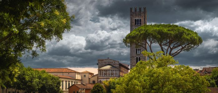 Sky of Lucca by AlexGutkin