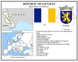 Republic of Sauville by otakumilitia