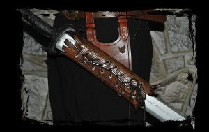 leather armor accessory by Lagueuse